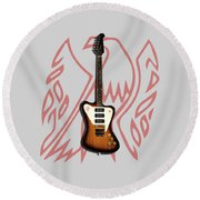 Gibson Firebird 1965 Round Beach Towel