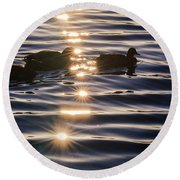 Gifts Of Sunshine Round Beach Towel