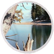 Glacier National Park 4 Round Beach Towel