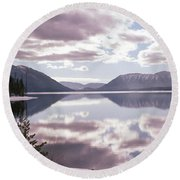 Glacier National Park 6 Round Beach Towel
