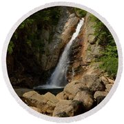 Glen Ellis River At The Falls Round Beach Towel