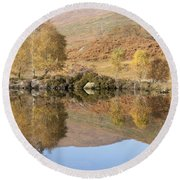 Glengarry Reflection Round Beach Towel