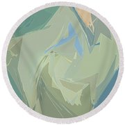 Glimmers Round Beach Towel