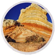 Glimpse Round Beach Towel