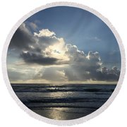 Glory Day Round Beach Towel