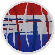 Glory Round Beach Towel