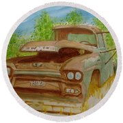 Gmc 300 Round Beach Towel