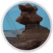 Goblin Valley Round Beach Towel