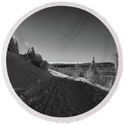 Goethe Way, Harz Round Beach Towel