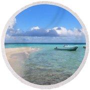 Goff's Caye Island Round Beach Towel