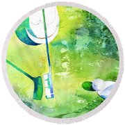 Golf Series - Finale Round Beach Towel