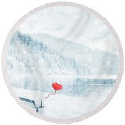 Gone Round Beach Towel by Iryna Goodall