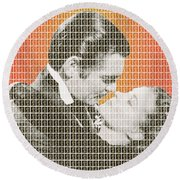 Gone With The Wind Round Beach Towel