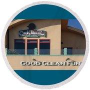 Good Clean Fun Round Beach Towel
