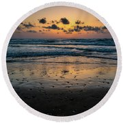 Goodnight Sea Round Beach Towel