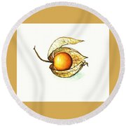 Gooseberry Round Beach Towel