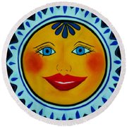 Gorda Round Beach Towel