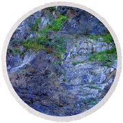 Gorge-2 Round Beach Towel by Dale Stillman