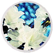 Gorgeous Round Beach Towel by Leanne Seymour