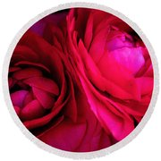 Gorgeous Sisters Round Beach Towel