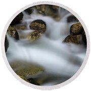 Goritsa Waterfalls-rapids 2226 Round Beach Towel