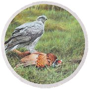 Goshawk Round Beach Towel