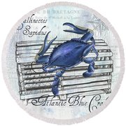 Gourmet Shellfish 1 Round Beach Towel