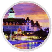 Grand Floridian Round Beach Towel
