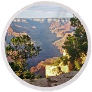 Grand Canyon No. 1 Round Beach Towel