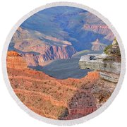 Grand Canyon 2 Round Beach Towel by Debby Pueschel