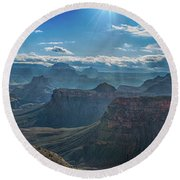 Grand Canyon 6 Round Beach Towel