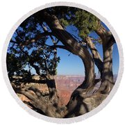 Grand Canyon No. 6 Round Beach Towel by Sandy Taylor