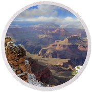 Grand Canyon Ab 3948 Round Beach Towel