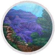 Grand Canyon Round Beach Towel by Bryan Bustard