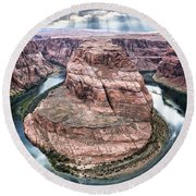 Grand Canyon Horseshoe Bend Round Beach Towel