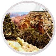 Grand Canyon National Park, Arizona Round Beach Towel