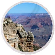 Grand Canyon South Rim Round Beach Towel