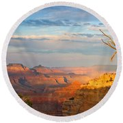 Grand Canyon Splendor Round Beach Towel