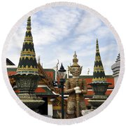 Grand Palace 10 Round Beach Towel