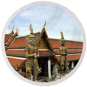 Grand Palace 11 Round Beach Towel