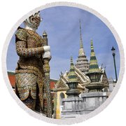Grand Palace 12 Round Beach Towel