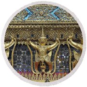 Grand Palace 7 Round Beach Towel