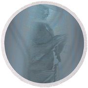Grandfather's Ghost Round Beach Towel