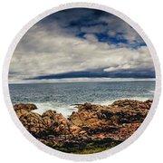 Granville Tasmania Panoramic Round Beach Towel