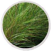 Grass Round Beach Towel