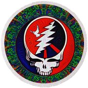 Grateful Dead Round Beach Towel