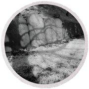 Graveyard 2, Liverpool Round Beach Towel
