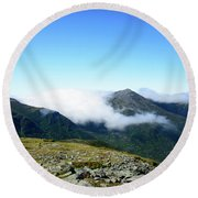 Round Beach Towel featuring the photograph Great Gulf Wilderness by Alana Ranney