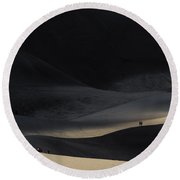 Great Sand Dunes National Park Round Beach Towel