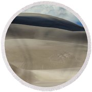 Great Sand Dunes National Park II Round Beach Towel by Greg Reed